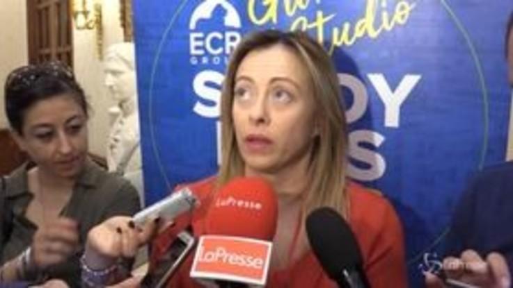 """Whirlpool, Meloni: """"No alle polemiche, servono soluzioni per i lavoratori"""""""