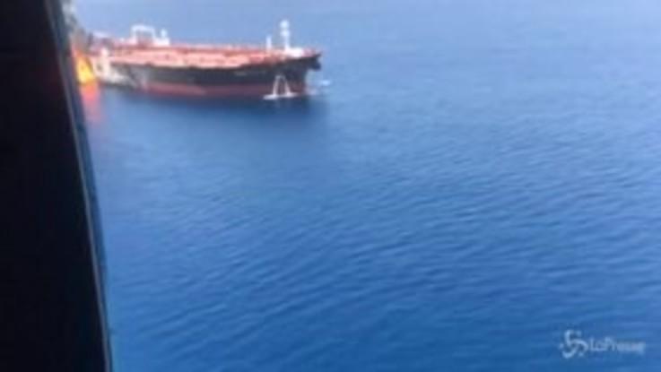 Oman, video Usa inchioderebbe Iran
