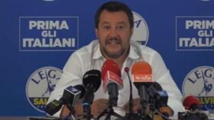 """Alitalia, Salvini: """"Lotito? Si occupa di far giocare i ragazzi a pallone con risultati alterni"""""""