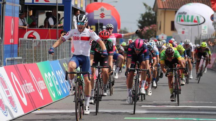 Giro d'Italia U23: Walls conquista la seconda tappa. Hayter ancora in rosa