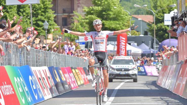 Giro d'Italia Under23, ecco l'Italia: Mazzucco si prende tappa e maglia rosa