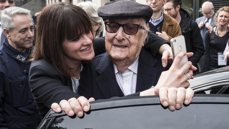 Andrea Camilleri ricoverato a Roma per arresto cardiaco