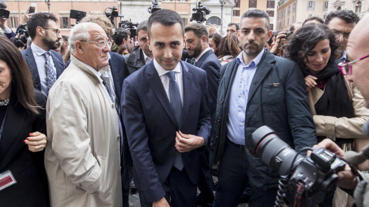 Di Maio riunisce i ministri M5S a palazzo Chigi