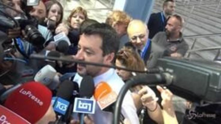 """Salvini: """"Torno da Washington carico per rendere competitiva l'Italia"""""""