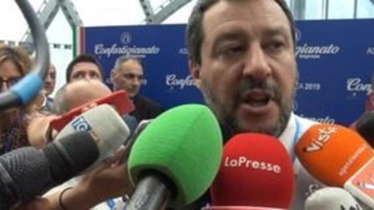 """Minibot, Salvini: """"Se Tria ha altra idea la porti al tavolo, altrimenti si va avanti con questo"""""""
