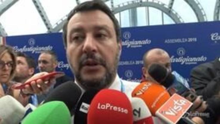 """Conti pubblici, Salvini: """"In disordine per regole imposte dall'Europa"""""""