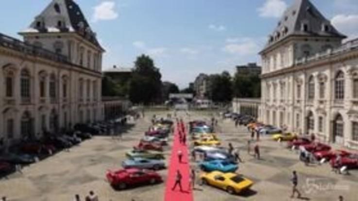 Fca, al via il Salone dell'Auto Parco Valentino di Torino
