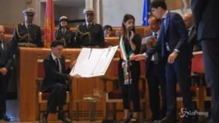 Ezio Bosso è cittadino onorario di Roma: la nomina in Campidoglio