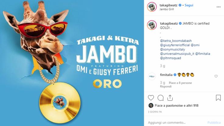 Tormentoni 2019, da 'Jambo' a 'Ostia Lido': ecco le hit dell'estate