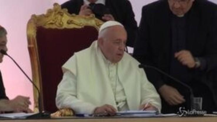 """Mediterraneo, Papa: """"Promuovere processi di pace e giustizia"""""""