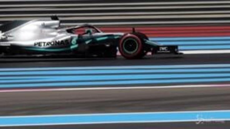 F1, Gp Francia: pole position di Lewis Hamilton