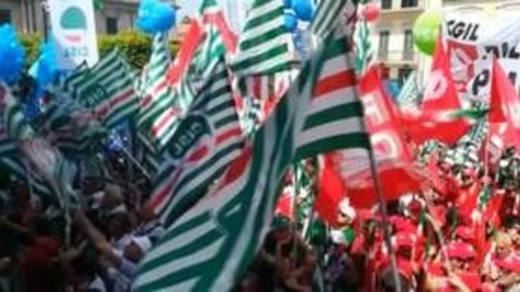 Reggio Calabria, sindacati in piazza per il Sud