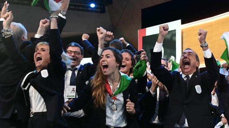 Olimpiadi 2026, vince Milano-Cortina: battuta la Svezia