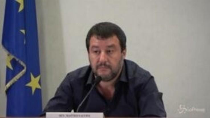 """Ue, Salvini: """"Facciamo parte di un club che ci chiede atti di sottomissione costante"""""""