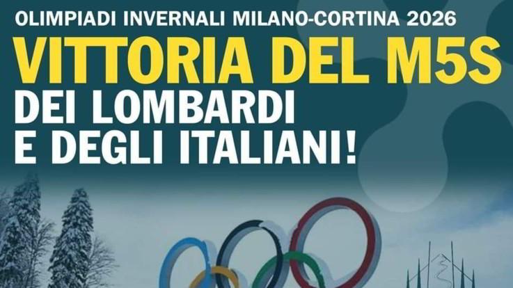 """Olimpiadi 2026, M5S: """"Lega vincente? Salvini era contro Giochi 2024"""". Gaffe dei grillini lombardi"""