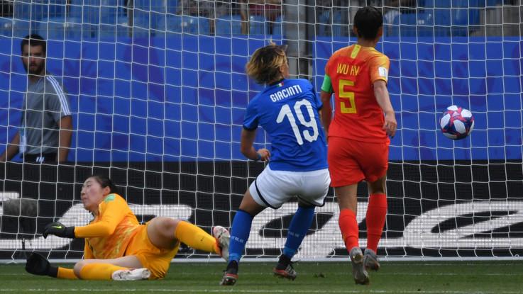 Mondiali femminili, azzurre a caccia dei quarti.  Italia-Cina 1-0 | Live