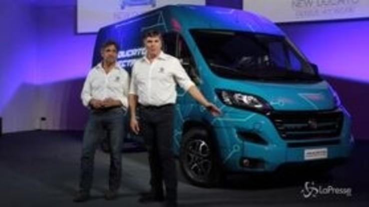 Fiat Professional presenta il nuovo Ducato elettrico