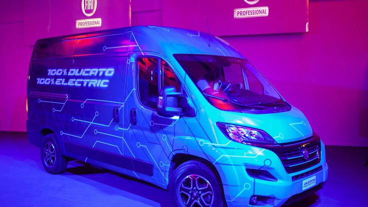 Fiat Professional, debutta il Ducato full electric: sul mercato nel 2020