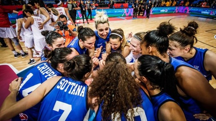 Basket donne, Europeo: Italia vince all'esordio, Turchia ko 57-54