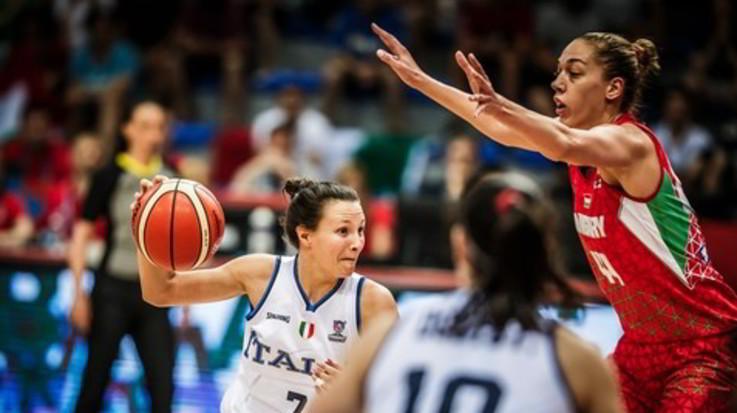 Basket, Europeo donne: Italia battuta dall'Ungheria