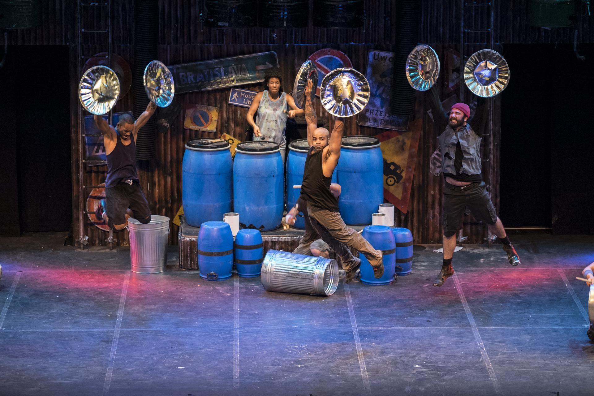 Da Broadway all'Italia: Stomp festeggia 25 anni