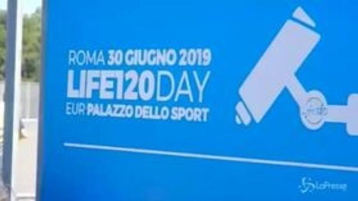 Life 120, a Roma l'evento dedicato alla controversa dieta di Panzironi