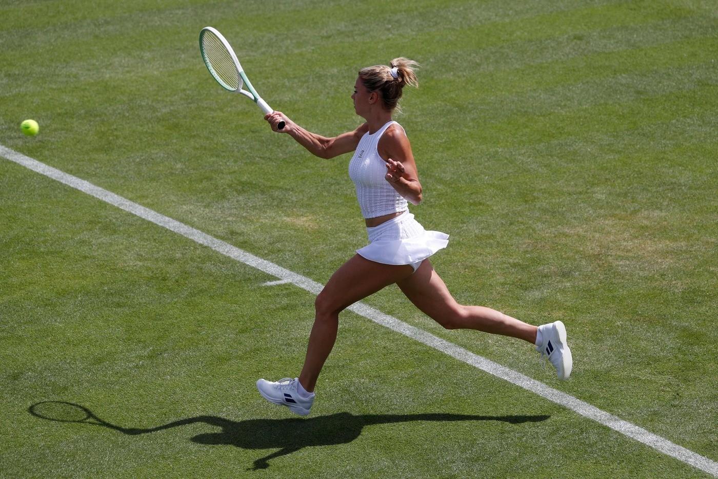 Wimbledon, Camila Giorgi subito eliminata. Impresa di Fabbiano