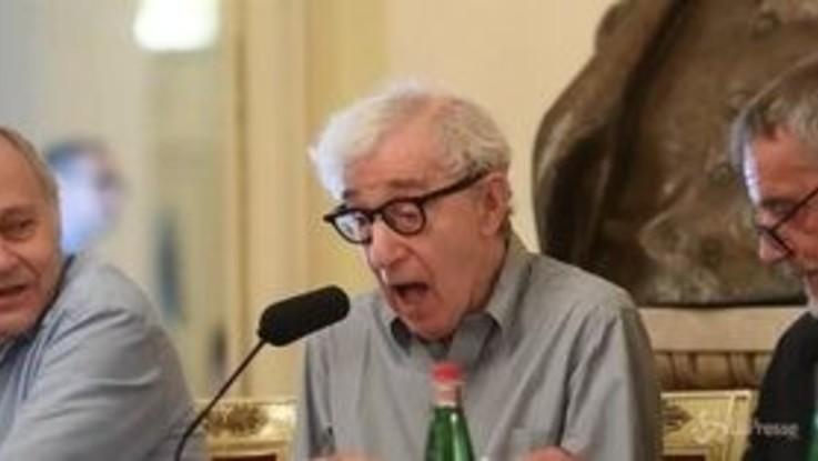 """Woody Allen alla Scala: """"L'Europa mi ha sempre voluto bene"""""""