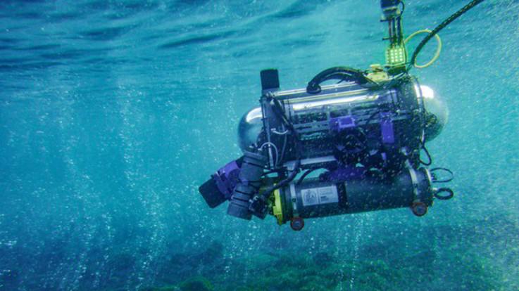 Robot 'FeelHippo' a caccia di bolle per trovare anidride carbonica in mare