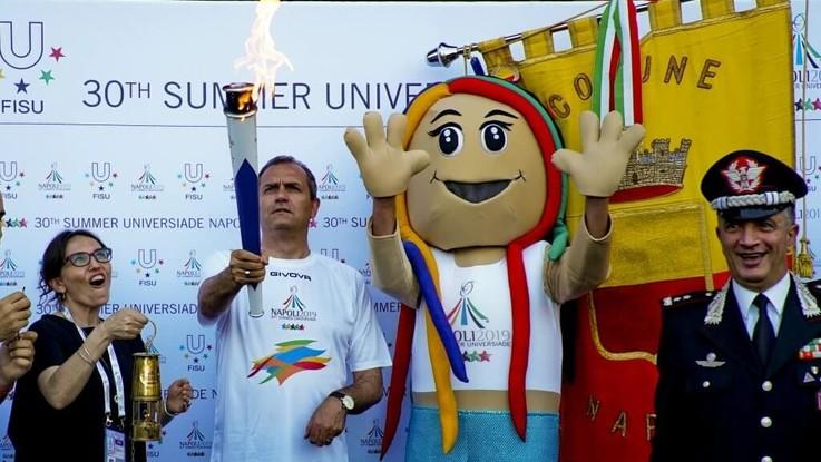 Universiade Napoli 2019 in diretta
