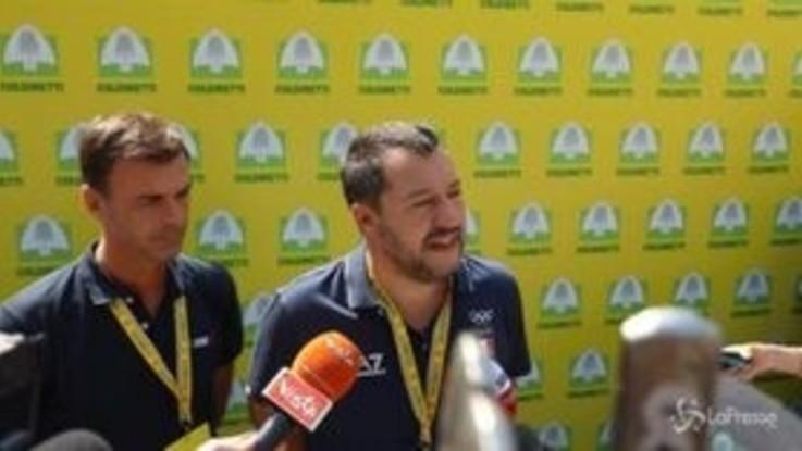 """Libia, Salvini: """"C'è un governo riconosciuto, guardia costiera libica sta facendo un gran lavoro"""""""