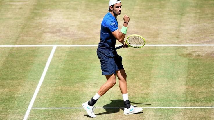 Wimbledon, Berrettini agli ottavi. Fognini esce e insulta gli inglesi
