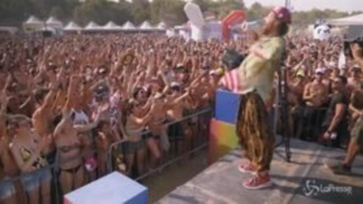 Jova Beach Party, 45mila persone a Lignano per Jovanotti