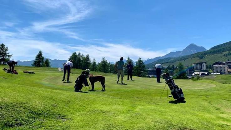 Golf, Sestriere: pro e under 18 impegnati sul campo più alto d'Europa