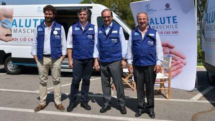 Fiat Professional, il tour contro i tumori maschili fa tappa a Sevel