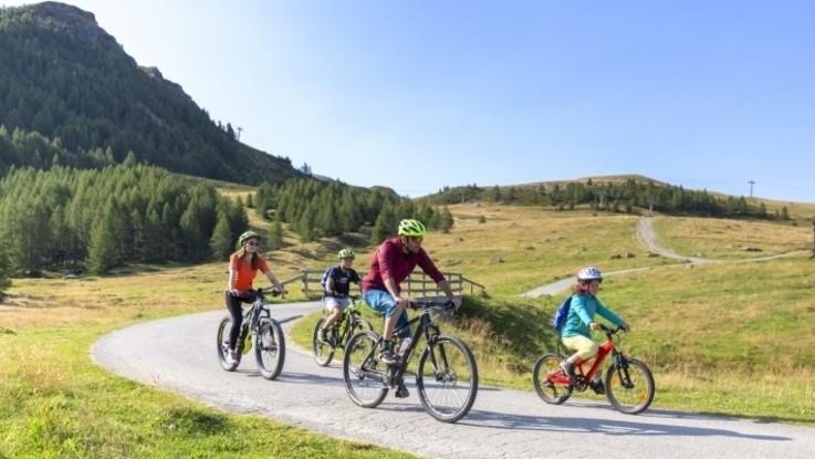 Bike, cascate e pic nic all'aria aperta per vivere una fresca estate in montagna