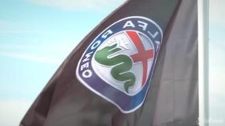 Alfa Romeo, il Biscione mostra i muscoli a Goodwood