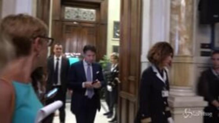 """Governo, Conte: """"Oggi due nuovi ministri, Fontana agli Affari Ue e Locatelli alla Famiglia"""""""