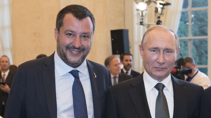 """Rubli dal Cremlino alla Lega per la campagna elettorale, Salvini: """"mai preso niente dalla Russia"""""""