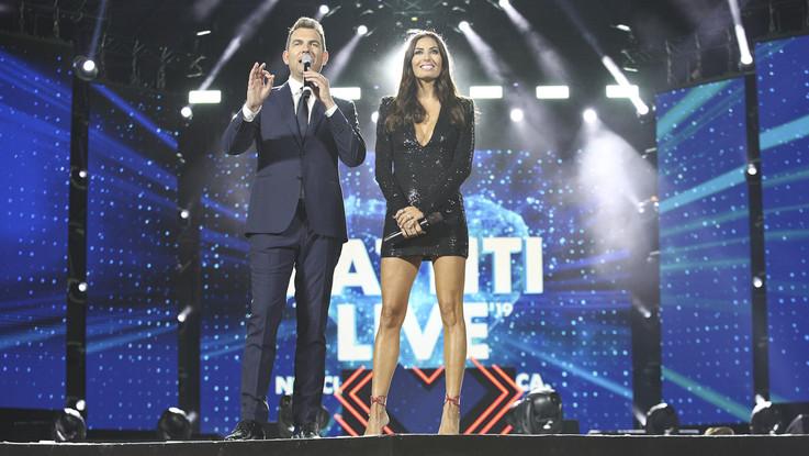 Ottimo esordio in tv per 'Battiti live' con Gregoraci: sfiora 11% share