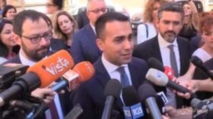 """Taglio parlamentari, Di Maio: """"Fine decennale ingordigia politica """""""