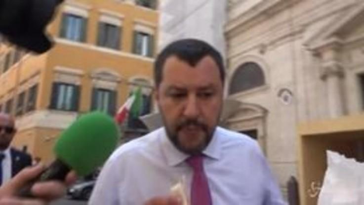 """Fondi Russi, Salvini: """"Mai presa una lira, la cosa non mi tocca"""""""