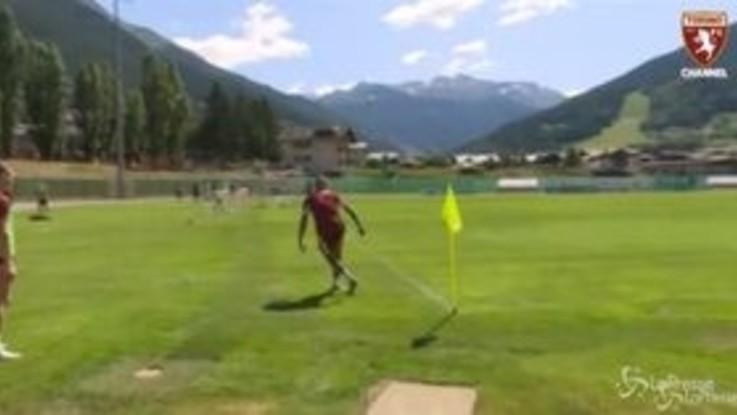 Torino: numero di Zaza, in gol con una spettacolare rabona da posizione impossibile