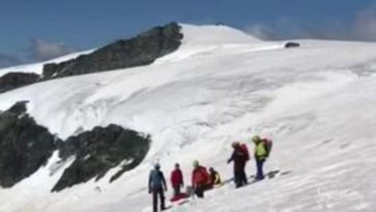 Aosta, morto alpinista caduto in un crepaccio del Breithorn