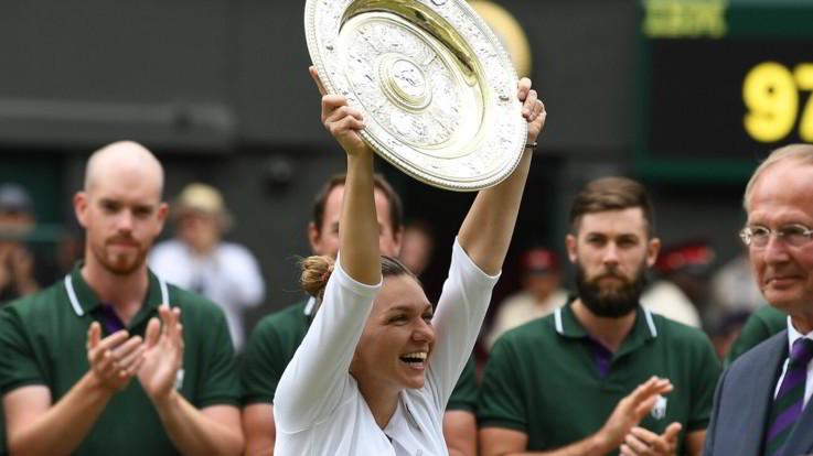 Wimbledon, sfuma il sogno di Serena Williams: Halep trionfa