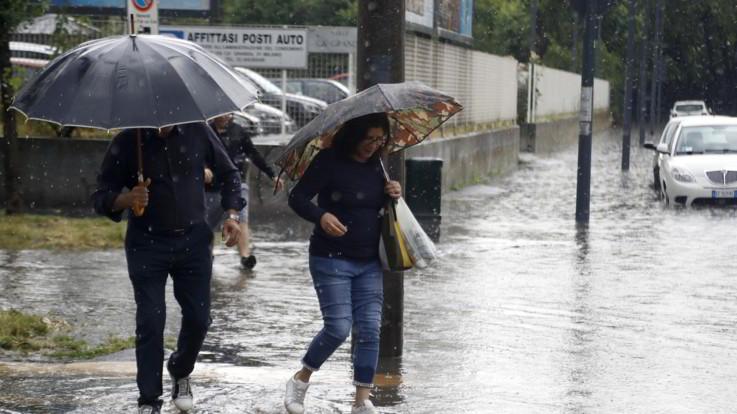 Il meteo di sabato 13 e domenica 14 luglio, piogge e temporali in arrivo al Nordovest