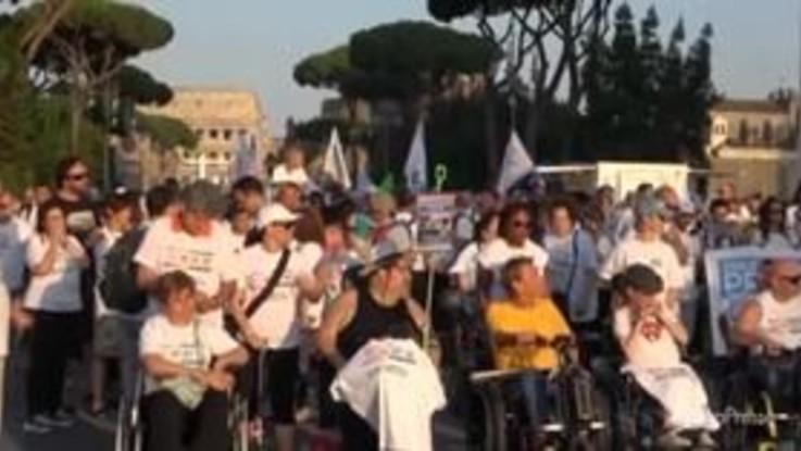 Disability Pride a Roma, consegnato elenco di richieste urgenti al premier Conte