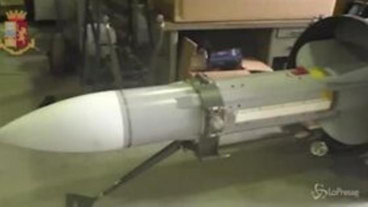 Ultradestra, blitz contro estremisti: sequestrato un arsenale, anche un missile aria-aria