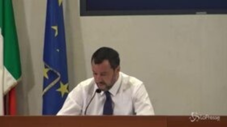 """Commissione Ue, Salvini: """"Giorgetti una delle figure migliori ma decide Conte"""""""