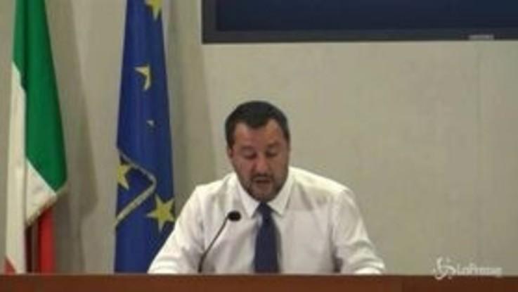 """Salvini: """"Nuovo incontro con le parti nella prima settimana di agosto"""""""